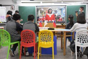 突破疫情限制 北投國中遠端視訊日本姊妹校進行線上交流
